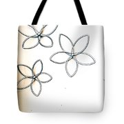 Stars  And Glasses Tote Bag