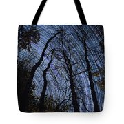 Stars And Silhouettes Tote Bag