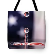 Stars And Stripes And H20 Tote Bag