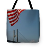 Stars And Stripes In Savannah Tote Bag