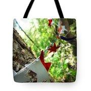 Stars Around Tree 2 Tote Bag