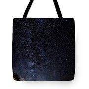 Stars At Lake Tahoe Tote Bag