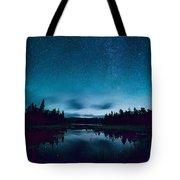 Stars Over Lake Vermilion Tote Bag