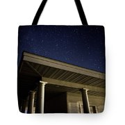 Stars Over The Pavilion Tote Bag