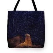 Stars Trails Tote Bag
