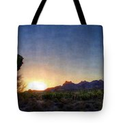 Start Of A New Day Tote Bag