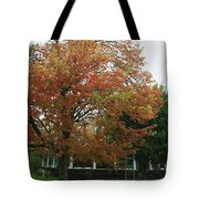 Start Of Autumn Tote Bag