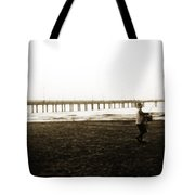 Starting Early Tote Bag