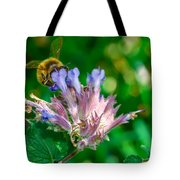 Starvin Marvin - The Bee Tote Bag by Louis Rivera