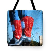 State Fair Of Texas Icons Tote Bag