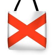State Flag Of Alabama Tote Bag