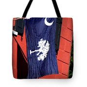 State Flag Of South Carolina Tote Bag