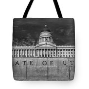 State Of Utah  Tote Bag