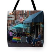 State Street Blues Tote Bag