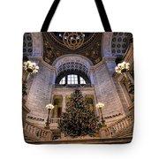 Stately Christmas Tree Tote Bag