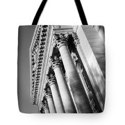 Stately Colonnade Tote Bag