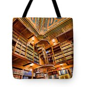 Stately Library Tote Bag