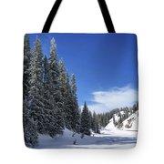 Stately Pines Tote Bag