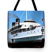 Stately Princess Marguerite Tote Bag