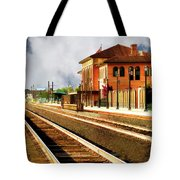 Station In Waiting Tote Bag