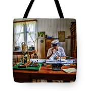 Station Master Mariefred Tote Bag