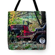 Stationary Ride Tote Bag
