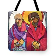 Stations Of The Cross - 01 Jesus Is Condemned To Death - Mmjcd Tote Bag