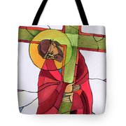 Stations Of The Cross - 02 Jesus Accepts The Cross - Mmjcs Tote Bag