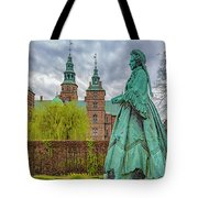 Statue At Rosenborg Castle Tote Bag