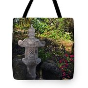 Statue In Shadows Tote Bag