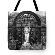 Statue Landscape Tote Bag