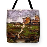 Statue Of A Zombie 2 Tote Bag