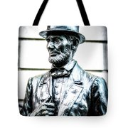 Statue Of Abraham Lincoln #8 Tote Bag