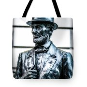 Statue Of Abraham Lincoln #9 Tote Bag