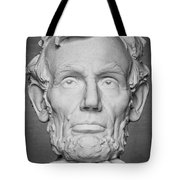 Statue Of Abraham Lincoln - Lincoln Memorial #6 Tote Bag