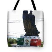 Statue Of Benito Pablo Juarez Garcia  Tote Bag