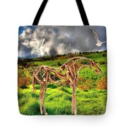 Statue Of Branches 3 Tote Bag