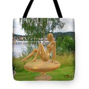 Statue Of Girl 2 Tote Bag