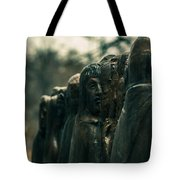 Statue Of Idle Thought Tote Bag