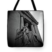 Statue Of Justice At The Courthouse In Memphis Tennessee Tote Bag