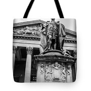 Statue Of King Edward Vii Tote Bag