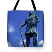 Statue Of Leif Ericksson  Tote Bag