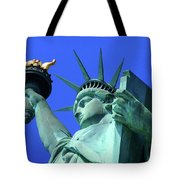 Statue Of Liberty 11 Tote Bag