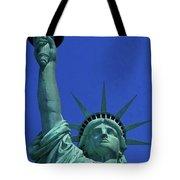 Statue Of Liberty 18 Tote Bag