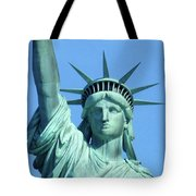 Statue Of Liberty 5 Tote Bag