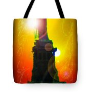 Statue Of Liberty 7 Tote Bag