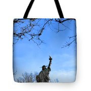 Statue Of Liberty Back View  Tote Bag