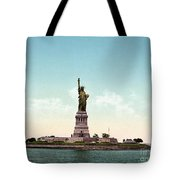 Statue Of Liberty, C1905 Tote Bag