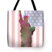 Statue Of Liberty Tote Bag