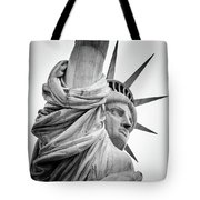 Statue Of Liberty, Lateral Portrait Tote Bag